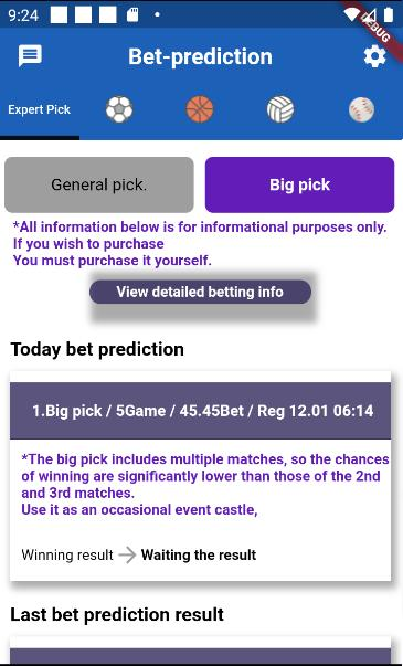 Bet , Prediction & Sports