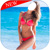 Hot and sexy Girl in Bikini : Suit Photo Editor