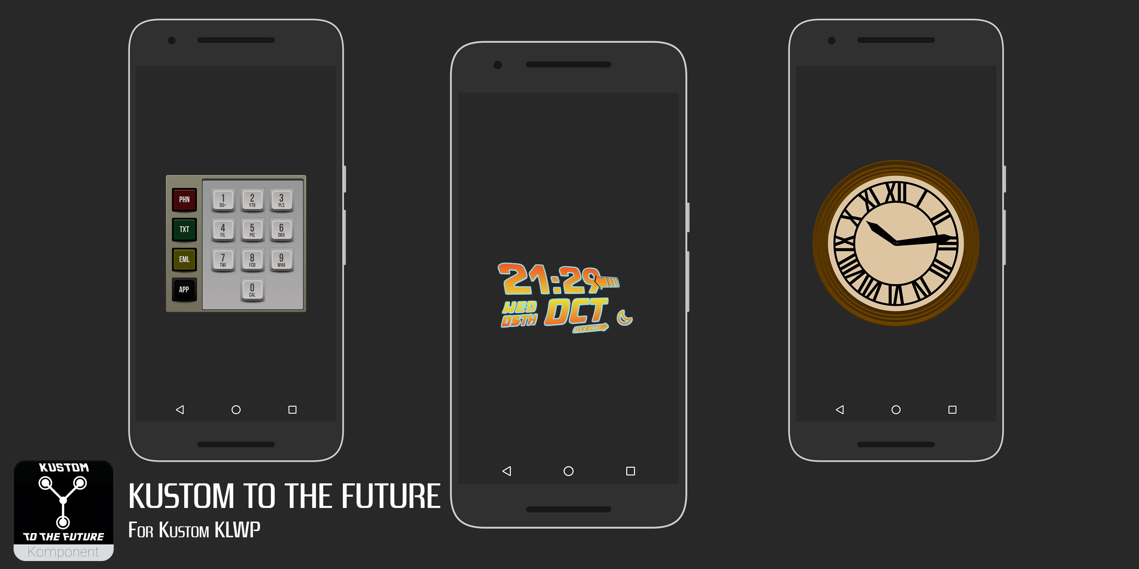 Kustom to the Future for KLWP