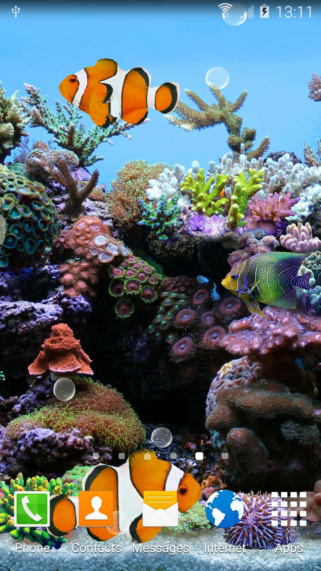 Coral Fish 3D Live Wallpaper