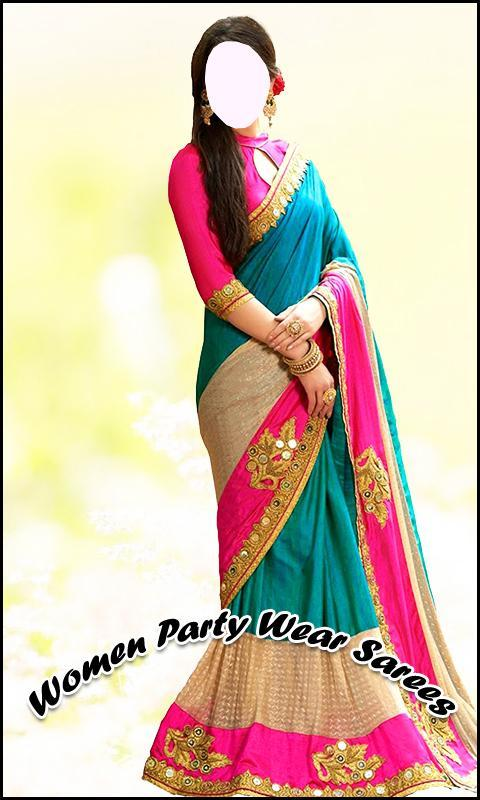 Women Party Wear Sarees