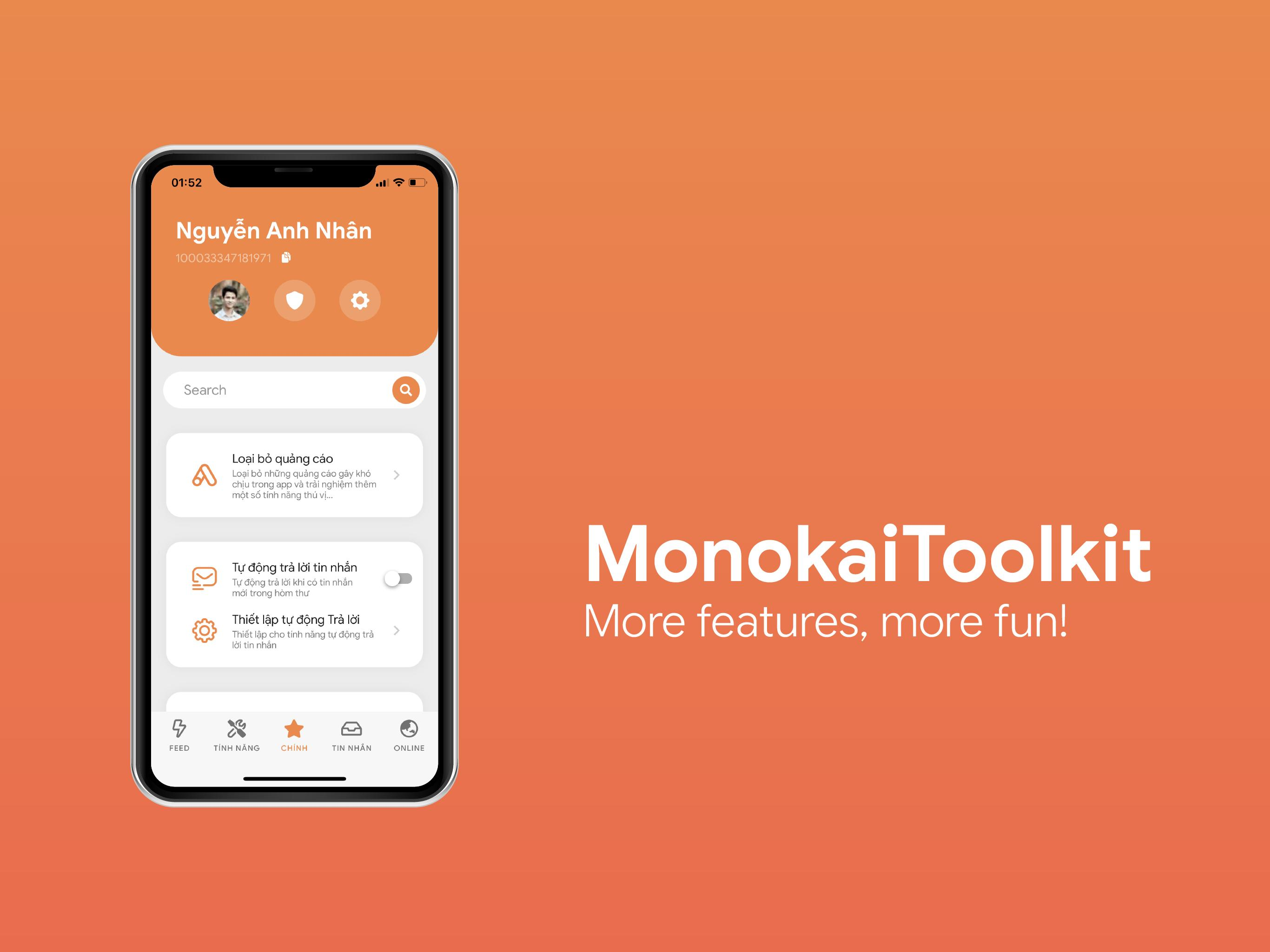 MonokaiToolkit - Super Toolkit for Facebook Users