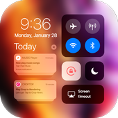 iCenter iOS14 - Control Center & iNoty iOS14