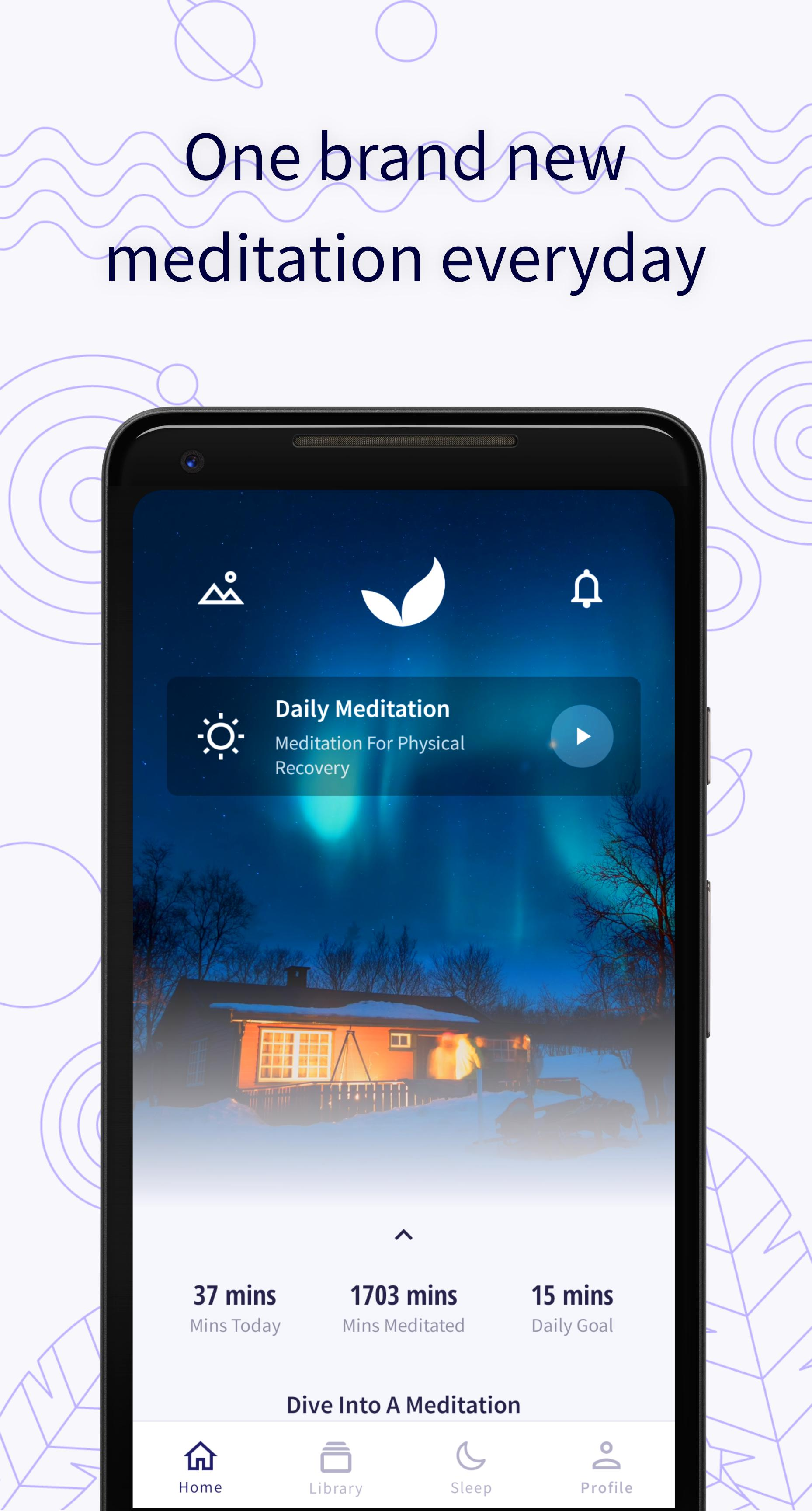 Deep Meditate: Meditation & Sleep App