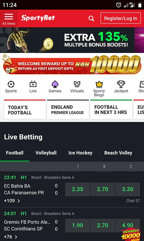 Sportybet Mobile