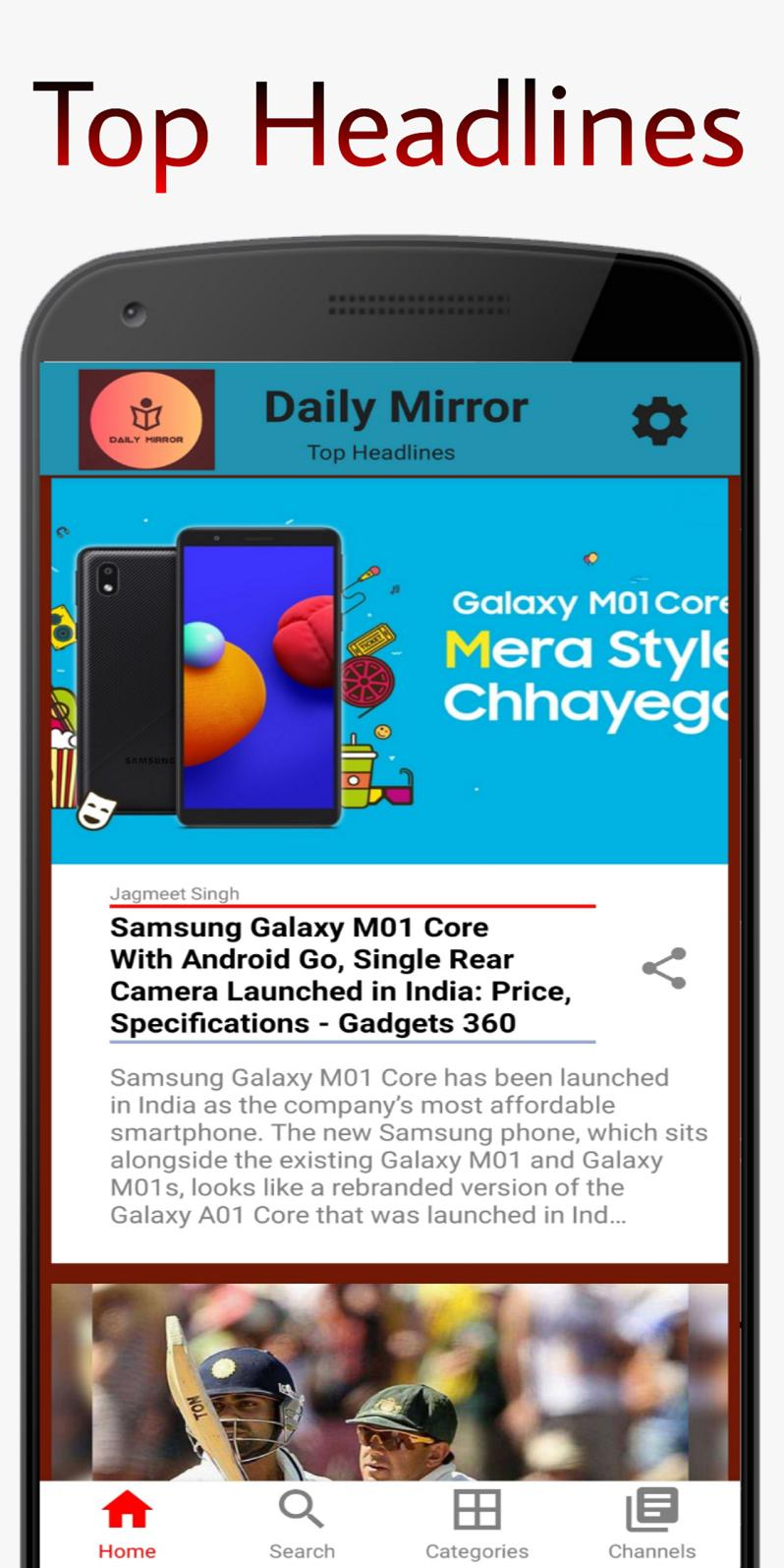Daily Mirror - The News App