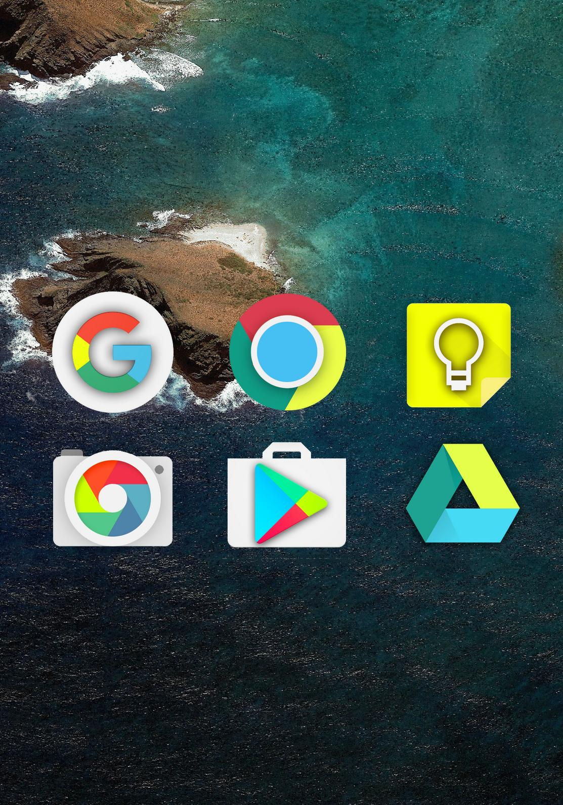 Nougat - Icon Pack