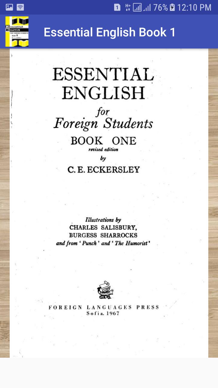 Essential English Book1