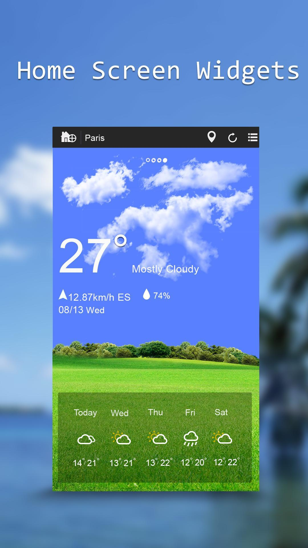 Weather & Widgets