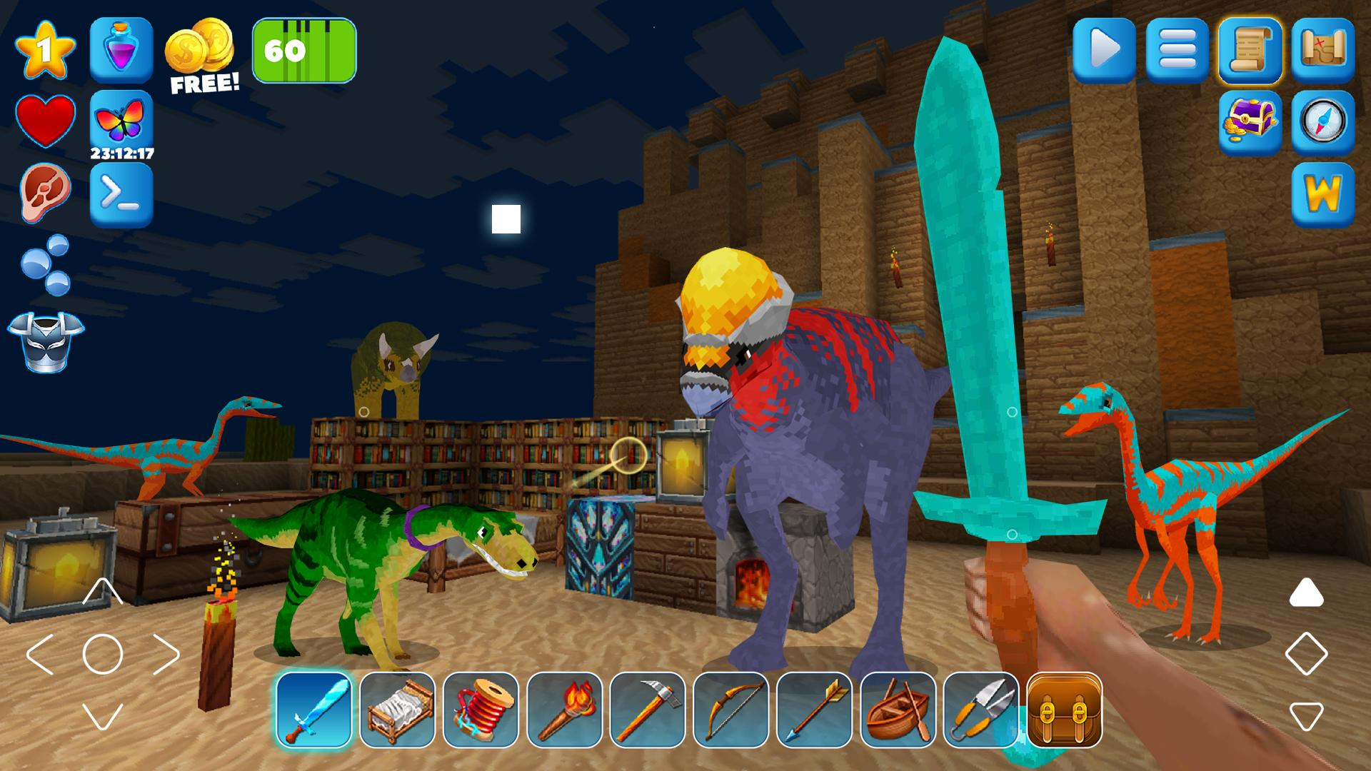 DinoCraft Survive & Craft Pocket Edition