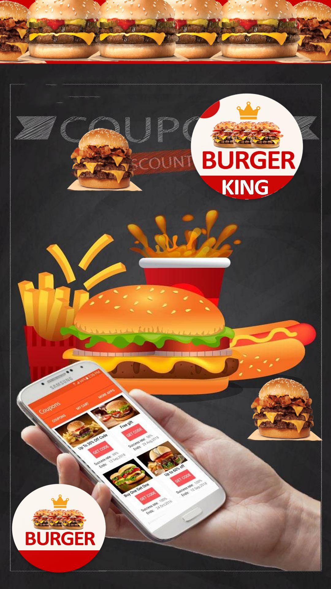 Food Coupons for Burger King - Hot Discounts ????????